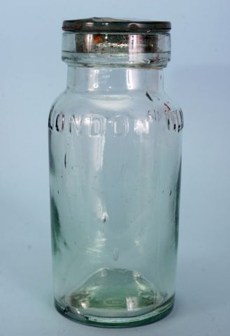 Pickle jar from Shackleton's Nimrod Expedition, 1907-09