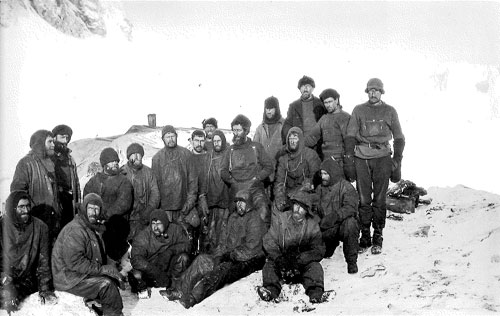 Crew of the Endurance, Elephant Island, 1916