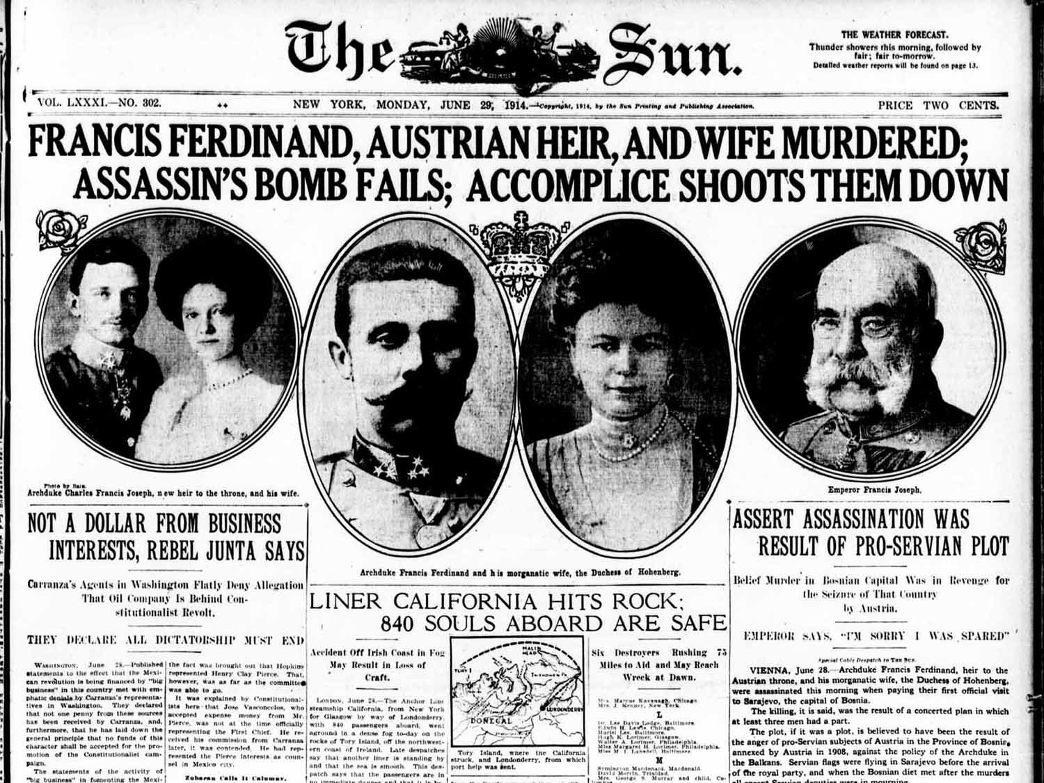 diary entry assassination of the archduke First world warcom - a multimedia history of world war one first world warcom a multimedia archduke franz ferdinand, was assassinated in sarajevo, setting off the train of diplomatic events that led to the outbreak of war in late july 1914.