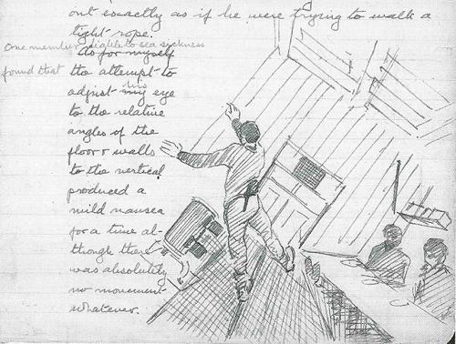 drawing by Thomas Orde-Lees