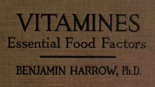 Vitamines-Essential-Food-Factors