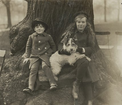 Edward and Cicely Shackleton, unknown photographer and date