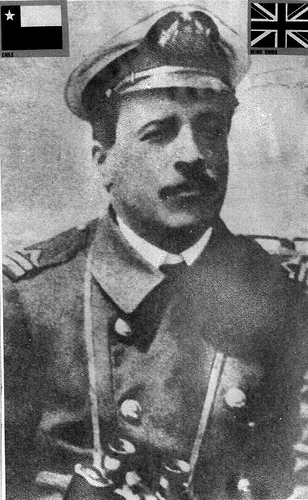Don Luis Pardo, Captain of the Yelcho and Freemason
